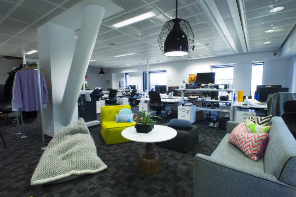 Facebook head office finalist 2013 sydney design awards for Best home office in the world