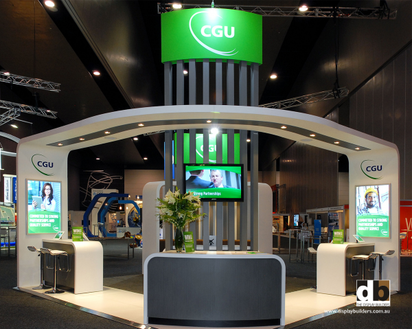 Exhibition Stand Awards : Cgu insurance corporate trade show stand melbourne