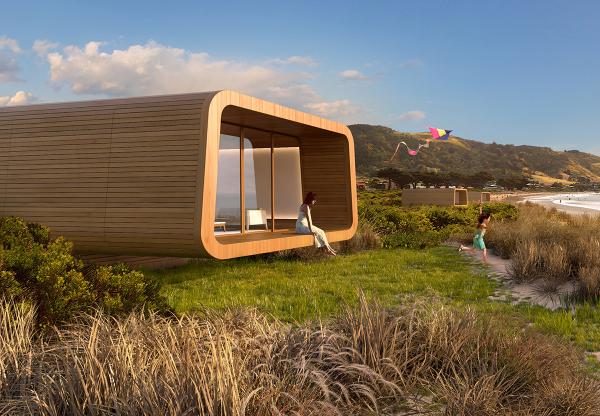 Accommodation Pod Finalist 2014 Sydney Design Awards