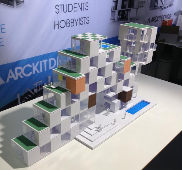 Architectural Model Building System 2014 London Design Awards