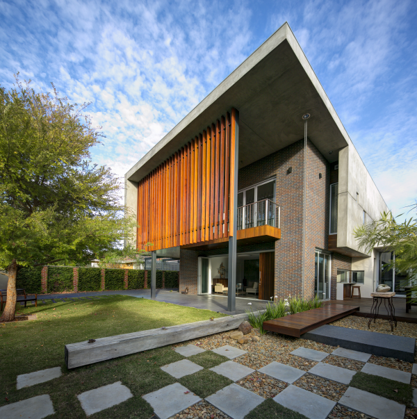 Wolf house finalist 2013 melbourne design awards for Residential architect design awards