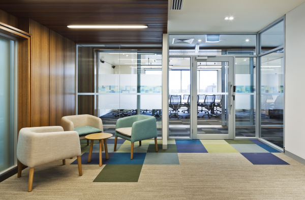 Office fit out draft state government of victoria peckvonhartel interior design corporate