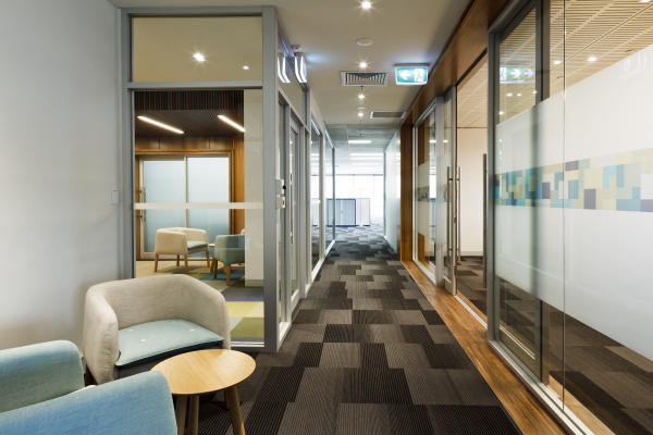 State government of victoria office fit out finalist for Office design victoria
