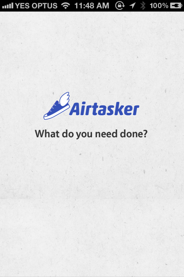 Airtasker - Get your Tasks and Errands done! - Finalist - 2012