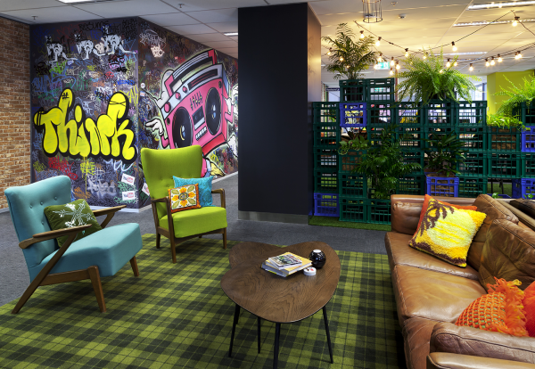 goggle office. Google / Siren Design Group Pty Ltd | Interior - Corporate Goggle Office