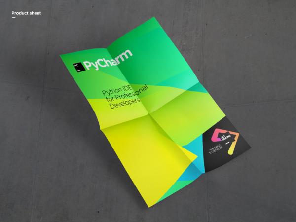 JetBrains Brand Redesign - Silver Winner - 2016 London