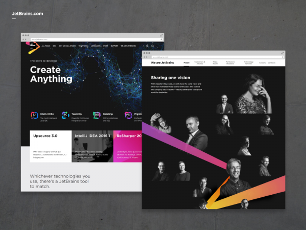 JetBrains Brand Redesign - Silver Winner - DRIVEN x DESIGN