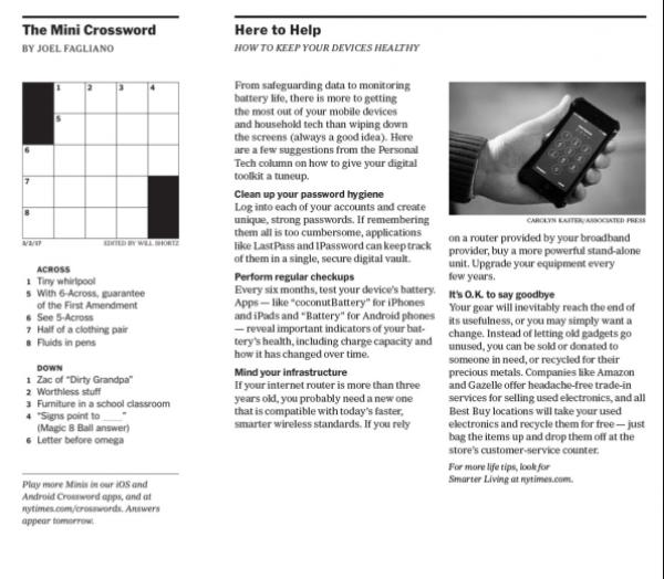 New York Times A2 & A3 redesign Gold Winner DRIVEN x DESIGN