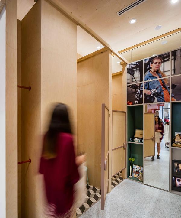 ATTIK Clothing / McCartney Design   Interior Design - Retail  sc 1 st  DRIVENxDESIGN & ATTIK Clothing Warringah Mall - 2017 Sydney Design Awards