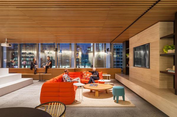 Office design sydney Commercial Dropbox Gensler Interior Design Corporate Commercial Creativ Kitchens Dropbox Sydney Office Silver Winner 2017 Sydney Design Awards