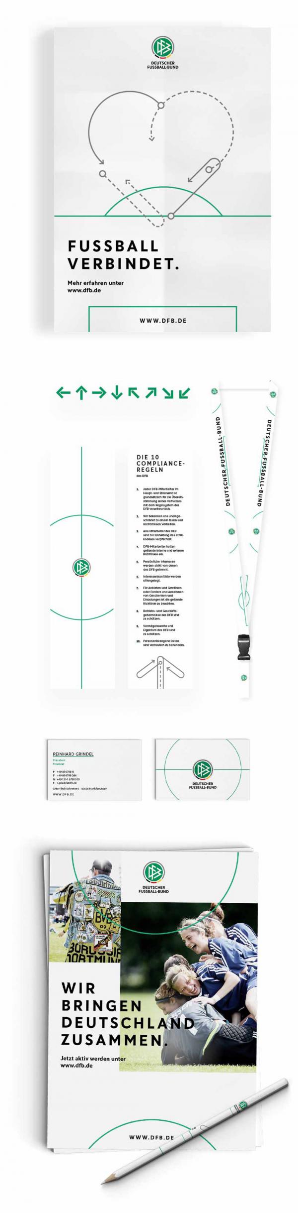 The Rebranding Of The Dfb Gold Winner 2017 Berlin Design