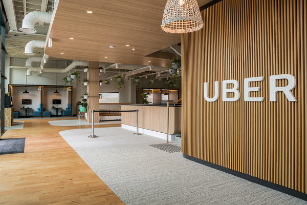 Uber Brisbane Greenlight Hub - Silver Winner - 2018 Sydney Design Awards