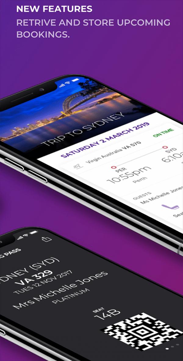 Virgin Australia's Native Mobile Apps - Gold Winner - 2019
