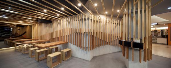 Sushi Hub - Winner - 2013 Sydney Design Awards