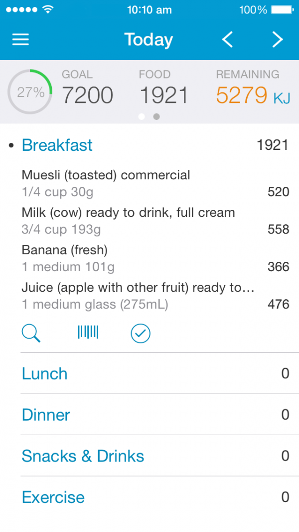 easy diet diary finalist 2014 australian mobile app awards