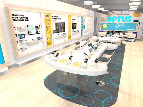 Optus sydney flagship store winner 2014 sydney design for Experiential design sydney