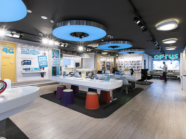 Optus Sydney Flagship Store