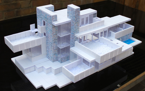 architectural model building system silver winner 2014