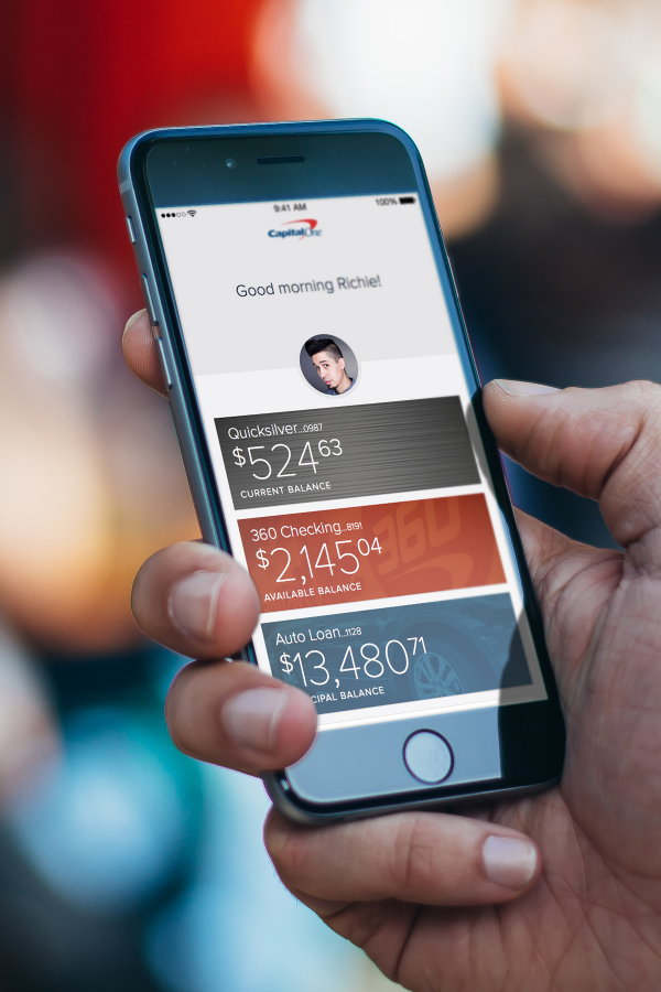Capital One for iPhone - Silver Winner - 2015 [app] design