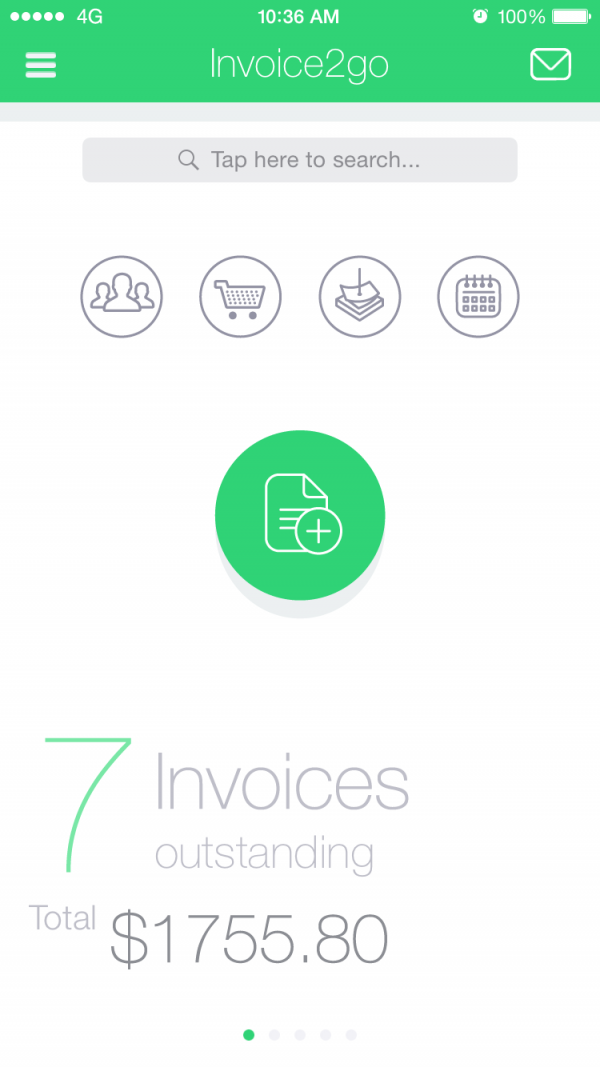 Invoicego Professional Invoices On The Go For Small Businesses - Invoice2go software