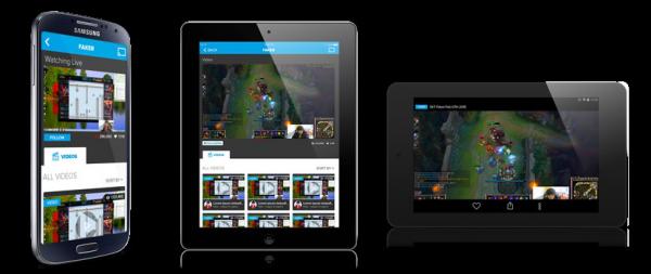 Azubu App - Silver Winner - 2015 [app] design awards USA