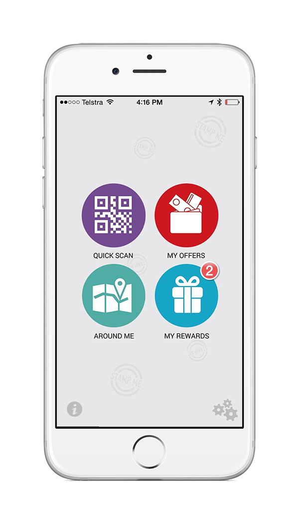 Stamp me loyalty reward app silver winner 2015 app for Who can design an app for me